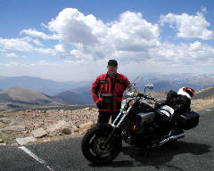 Highest paved point in North America 