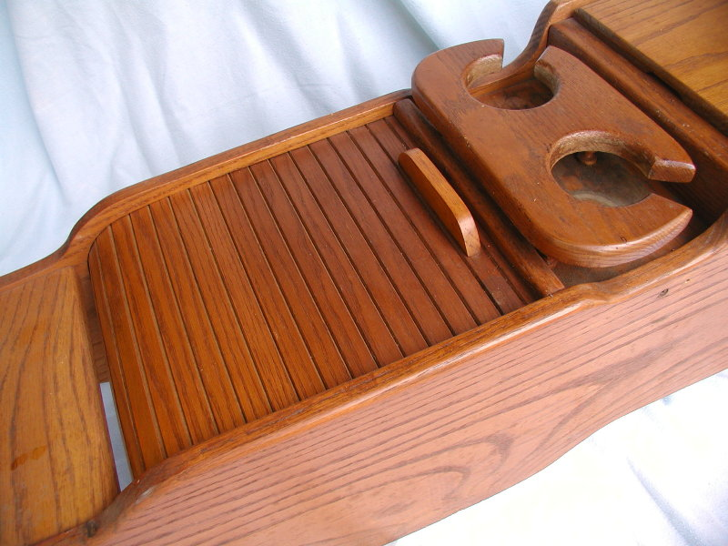 Wooden Center Console ~ Square body chevrolet gmc suburban travel quest solid